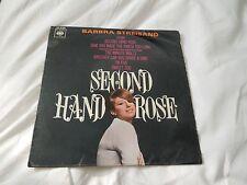 "Barbra Streisand Second Hand Rose RARE 7"" Single"