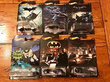 Hot Wheels BATMAN Set of all 6 SIX Cars Walmart Exclusive TV Batmobile 1966