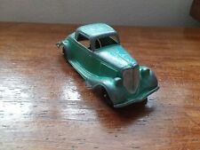 Vintage HUBLEY 1934 Green Ford Roadster Coupe #404. Original Paint, 5 1/2 inches