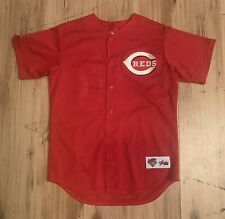 Vintage Majestic Cincinnati Reds Ken Griffey Jr. BP Jersey Mens Medium Red