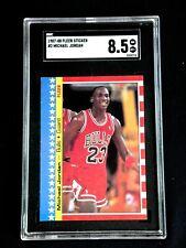 MICHAEL JORDAN 1987 FLEER STICKER #2 SGC 8.5 NM-MT+ CHICAGO BULLS 1987-1988