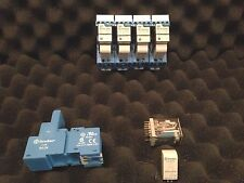 FINDER 94.04 Relay Socket / 55.34.9.024.5090  Relay and Diode Module