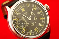 Vintage Russian USSR vs Germany MILITARY style pilots watch LACO WW2 WAR2 style