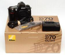 Nikon D70 6.1MP Digital SLR Camera! Good Condition! Shutter Count 10568!