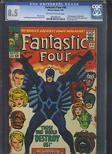 FANTASTIC FOUR #46 CGC VF+ 8.5; OW-W; 2nd app. of the Inhumans!