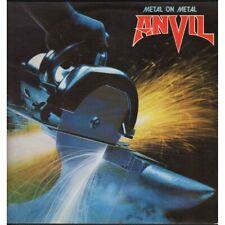 Anvil Lp Vinile Metal On Metal / Attic A 120 AT 1130 Francia Nuovo