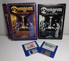 Vintage Atari St Dungeon Master Ftl Games Big Box Computer Video Complete