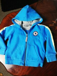 Converse Boys Age 18 MONTHS FULL TRACKSUIT  Hoody Jacket zip up cotton top