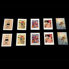Assortment Of 10 Blank Cards With Envelopes - Artistic Themes, 2 Of Each Design