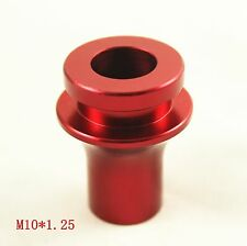 NEW RED CNC BILLET SHIFT KNOB BOOT RETAINER ADAPTER FOR MAZDA 2 3 5 6 MT