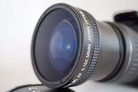Super Ultra Wide Angle Macro Fisheye LENS FOR Nikon AF DSLR Digital Camera nEW