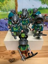 Playmobil Random Green Knights Figures with Accessories / Shield / Sword / EUC