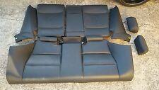 BMW E46 323ci 328ci 325ci 330ci coupe rear folding black seat leather OEM