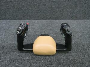 82980-005 Piper PA46-350P Control Wheel w/ Trim, AP Disc, Mic, & Ident Switch