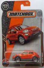Matchbox 2018 MBX ROAD TRIP '16 Fiat 500 X 12/125