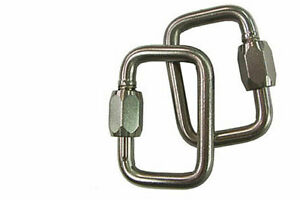 Gin Rescue Carabiner 7mm For Paragliding Paramotor Reserve Parachute Connect