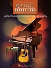 40 Acoustic Bestsellers (Piano/Vocal/Guitar Songbook), Hal Leonard Corp., Very G