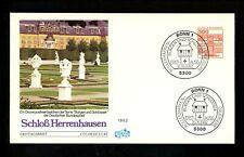 Postal History Germany Fdc #1315 Herrenhausen Castle 1982