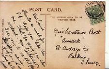 Family History Postcard - Pratt - St Audreys Road - Barking - Essex - Ref 2151A