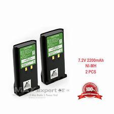 2 x 2200mAh  7.2V KNB-17A KNB-22N Battery for KENWOOD TK-280 TK-380 TK-480