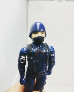 Vintage 1983 GI Joe ARAH Cobra Soldier V1.5 Swivel 100% Complete