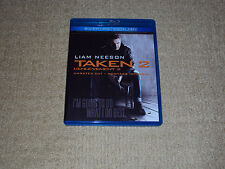 TAKEN 2, UNRATED CUT, BLU-RAY & DVD, EXCELLENT CONDITION