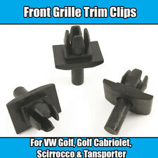 10x Trim Clips For VW Golf MK1 Transporter T25 Front Grille Fixing Rabbit