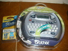 Brother Printer Wireless Personal Handheld Labeler Time Date Function Quality NE