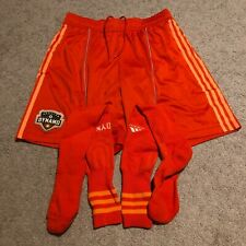 Adidas Climacool Houston Dynamo MLS Kit Shorts Socks Mens Sz Large L