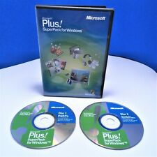 Super Pack Microsoft Plus! For Windows XP With Key Used Good Condition