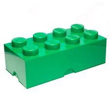 LEGO STORAGE BRICK 8 GREEN KIDS LARGE SEALED FURNITURE