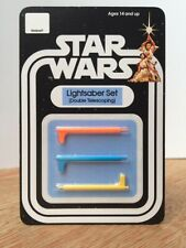 Lightsaber Set (Double Telescoping) for Vintage Luke Ben and Vader (DT Sabers)