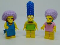 Genuine Lego The Simpsons  Marge , Patty and Selma  Mini Figures
