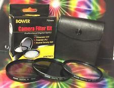 BOWER Filter Kit 72mm ND4 UV PL :to CAMERA Z6 Z7 Lens Nikon NIKKOR Z 24-70mm f/4