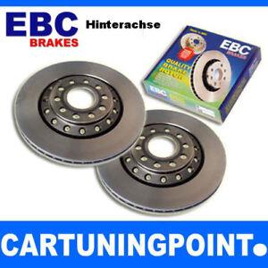 EBC Brake Discs Rear Premium Disc For Hyundai i40 Cw VF D1879