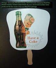 Coca Cola Soda Pop Trenton Coke Plant PROMO Advertising Spriteboy Fan MINT!