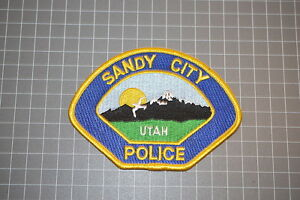 Sandy City Utah Police Patch (T3)