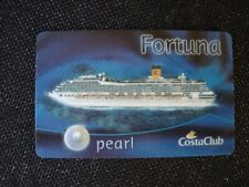 Costa Fortuna (PEARL Status) Bordkarte Schlüsselkarte  Kabinenkarte
