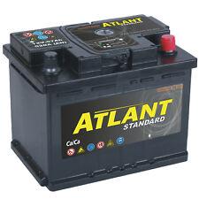 Autobatterie 57Ah 12V 520A/EN ATLANT TOP ANGEBOT SOFORT & NEU 57 Ah