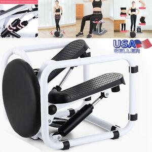 Exerciser Stepper -Mini Fitness Hydraulic Pedal Stepper, Digital Display