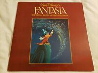 Fantasia Record Album Disney 1982 LP Vinyl Soundtrack digital 33 rpm NM/EX