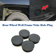 4PCS Rear Wheel Well Cab Frame Plug Kit 2001-2019 GMC Chevrolet Chevy 2500HD