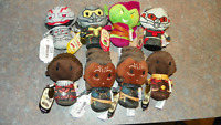 HALLMARK MARVEL ITTY BITTYS LOT OF 8- BLACK PANTHER, ANTMAN, WASP, ULTRON, HOOKS