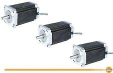 DE Free 3PCS Nema34 Stepper Motor 34HS5460D12.7L34J5-1 150mm 12Nm 6A Φ12.7mm