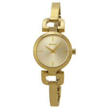 DKNY Quartz Gold Tone Stainless Steel Watch NY8543