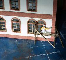 Lasercut Bausatz Malergerüst aus Holz Spur N