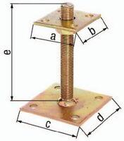 I-Pfostenträger ETA-10/0210 70x70x100x100x150mm Stahl roh galv. gelb verz.