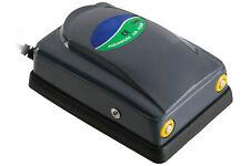 Pompa d'aria 5W per acquario ossigeno 2x4L/min fontana laghetto sienziosa DN-348