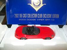 2003 Dodge Viper SRT-10 - Limited Edition - Franklin Mint  - New