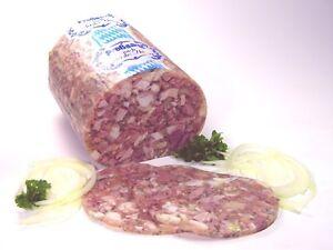 Sülzwurst -  fränkische Art (säuerlich)  1,0kg  vom Oberpfälzer Landmetzger